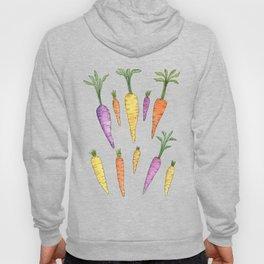 Watecolor Heirlom Carrots Hoody