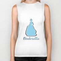 cinderella Biker Tanks featuring Cinderella by husavendaczek