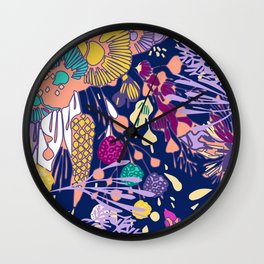 BEACH, PLEASE. Wall Clock