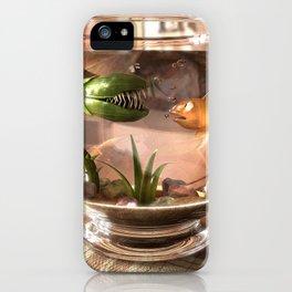 Unpleasant company iPhone Case