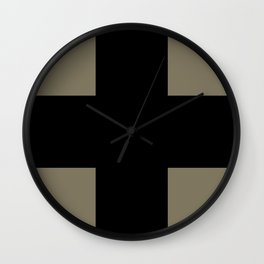 GERMAN BLACK CRUSADERS Wall Clock