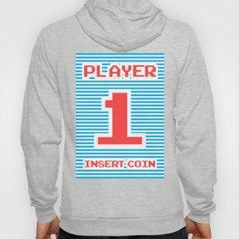 Player 1, gamer poster, gamer t-shirt, Hoody