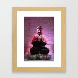 Meditating Buddha Framed Art Print