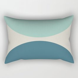 Abstract Geometric 22 Rectangular Pillow