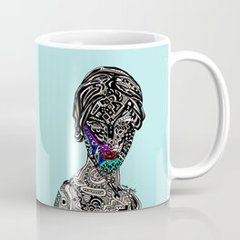 Millenium Space Goddess Coffee Mug