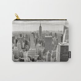 New York Skyline (Brooklyn, Queens, Manhattan) Carry-All Pouch