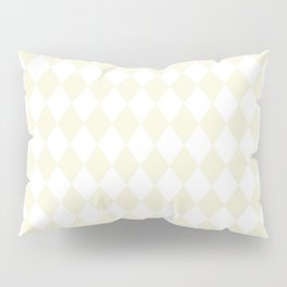 Rhombus (Beige/White) Pillow Sham