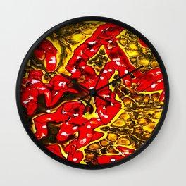 Felipe's Inferno Wall Clock