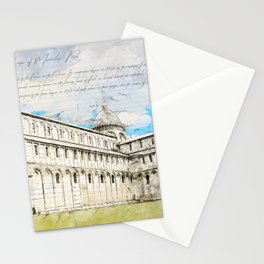 Piazza dei Miracoli Stationery Cards