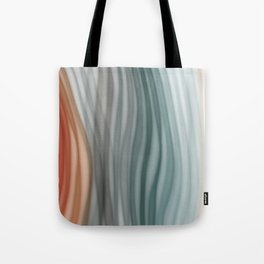 Pretty Pastel Bands Tote Bag