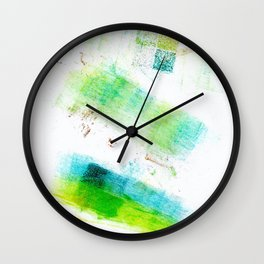 Acknowledge Stamping Wall Clock