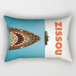 Zissou The Life Aquatic Rectangular Pillow