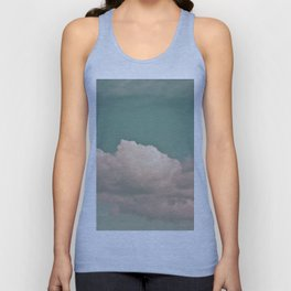 Clouds in the sky Unisex Tank Top