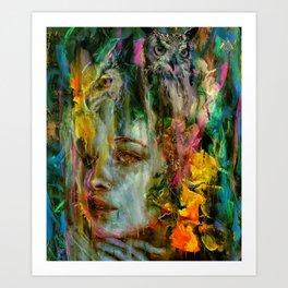 Unspoken Art Print