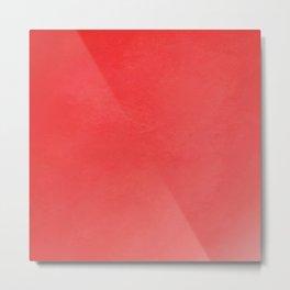 Fabulous red fiesta ombre gradient Metal Print