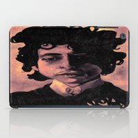60s iPad Cases featuring Bob Dylan (60s style) by Catheriney
