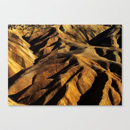 Zabriskie Point - Death Valley Canvas Print