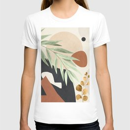 Branches and Leaves in an Abstraction 03 T-shirt