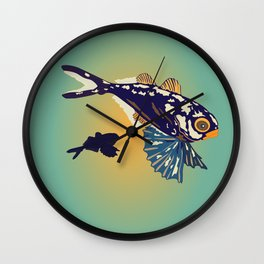 Ocean Fish Wall Clock