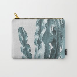 Cacti in Blue Carry-All Pouch