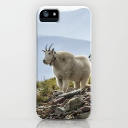 The Ups and Downs of Being A Mountain Goat No. 2a iPhone Case