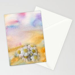 Window Curtains - Watercolour Stationery Cards