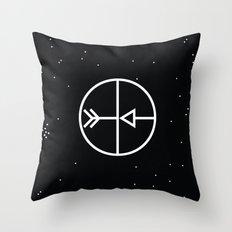 Sagitarius Throw Pillow