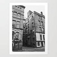 manchester Art Prints featuring Manchester by John Shepherd Photography