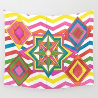 easter Wall Tapestries featuring Easter by Smiley's Dreamboat