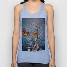 Tangled of Christmas Unisex Tank Top