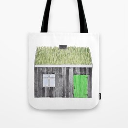 Traditional Faroese House Tote Bag