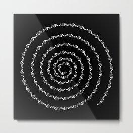Sol key swirl - inverted Metal Print