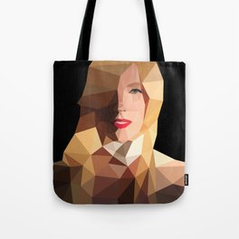 Black Frost Tote Bag