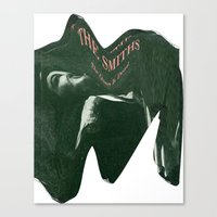 the smiths Canvas Prints featuring Depressing Smiths by James T. Green