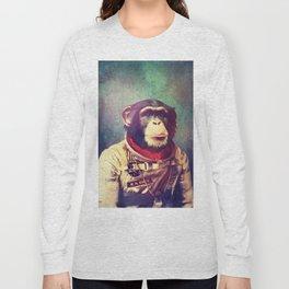 astro monkey Long Sleeve T-shirt