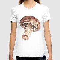 mushroom T-shirts featuring Mushroom by Alicia Severson