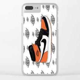 Jordan 1 Shattered Backboard Clear iPhone Case