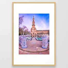 Plaza de España, Sevilla, Spain 1 Framed Art Print