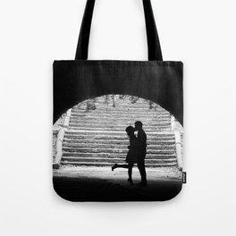Love Story in Central Park Tote Bag