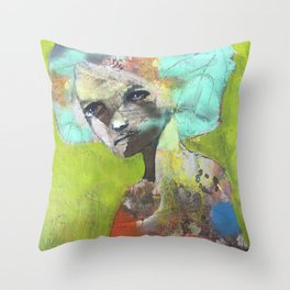 A bright future Throw Pillow