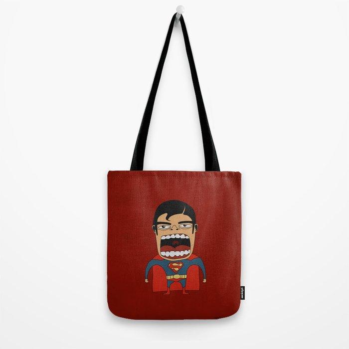 Screaming Superdude Tote Bag