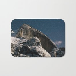 Half Dome Night Bath Mat