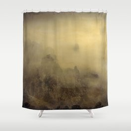 Flying With You... Hand Painted Photograph Shower Curtain