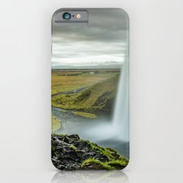 Seljalandsfoss Waterfall Island iPhone Case