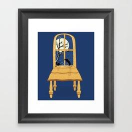 Window Seat Framed Art Print