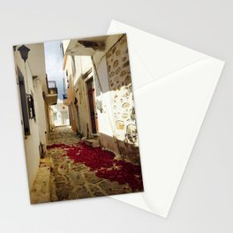Streets of Greece Stationery Cards