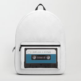 I made you a mixtape | Mix Tape Graphic Design Backpack