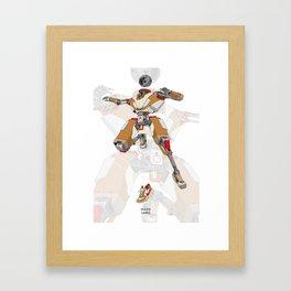 Mars Yard Framed Art Print