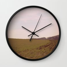 Long Field Wall Clock