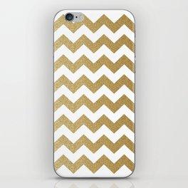 Sparkling Chevron iPhone Skin